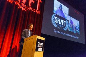 Vincent Culliver. ANNOUNCEMENT OF SHIFT AWARD WINNERS.