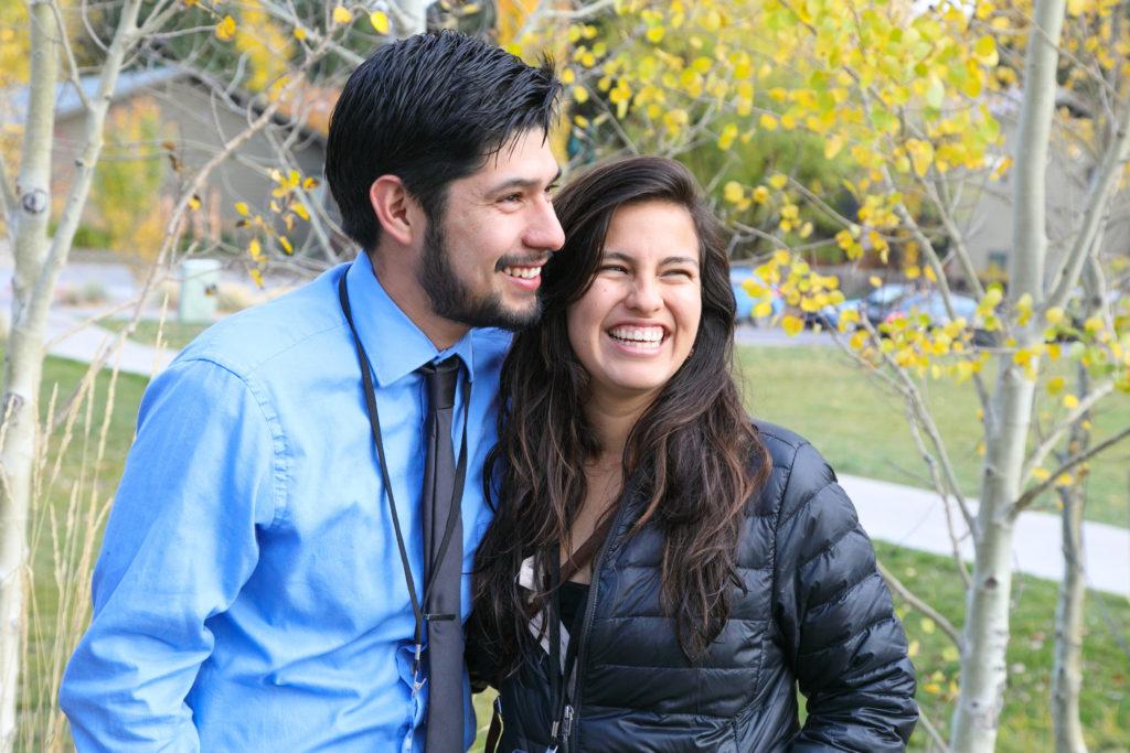 (L-R) Alfonso Orozco and Michelle Piñon, Latino Outdoors
